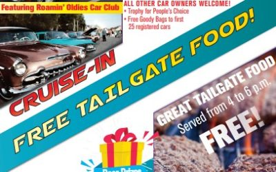Cruise-In and Tailgate Party!!